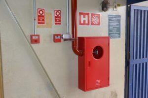 Abrigo para hidrante