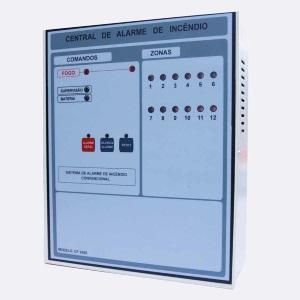 central de alarme